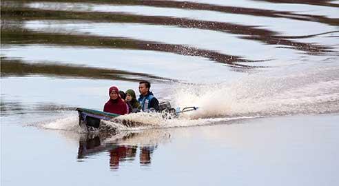 Spirit of Kalimantan highlight