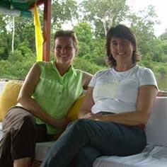 Lorna and Gaye